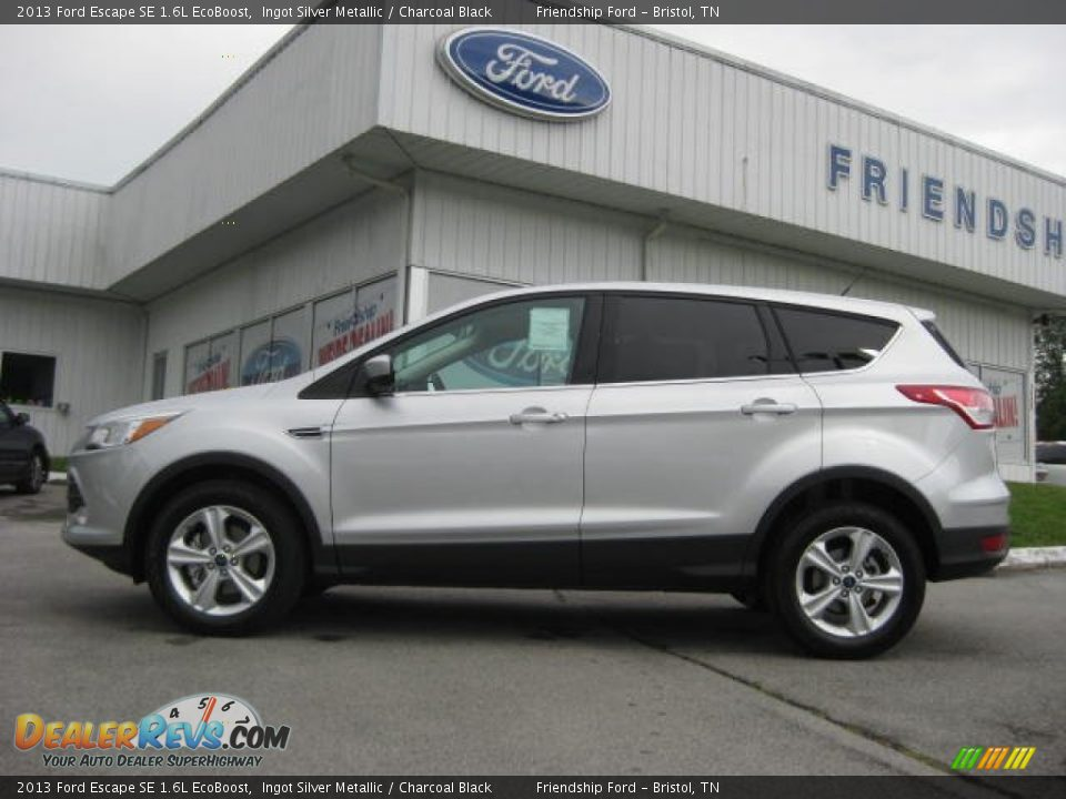 2013 Ford Escape Se 1 6l Ecoboost Ingot Silver Metallic