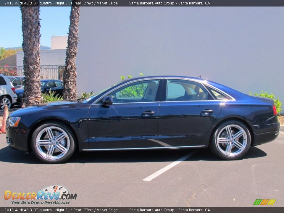 Night Blue Pearl Effect 2013 Audi A8 3 0t Quattro Photo 2