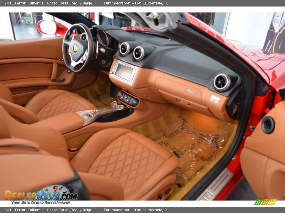 Beige Interior 2011 Ferrari California Photo 13