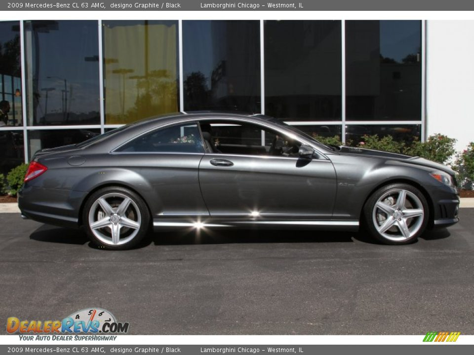 designo graphite 2009 mercedes benz cl 63 amg photo 6. Black Bedroom Furniture Sets. Home Design Ideas