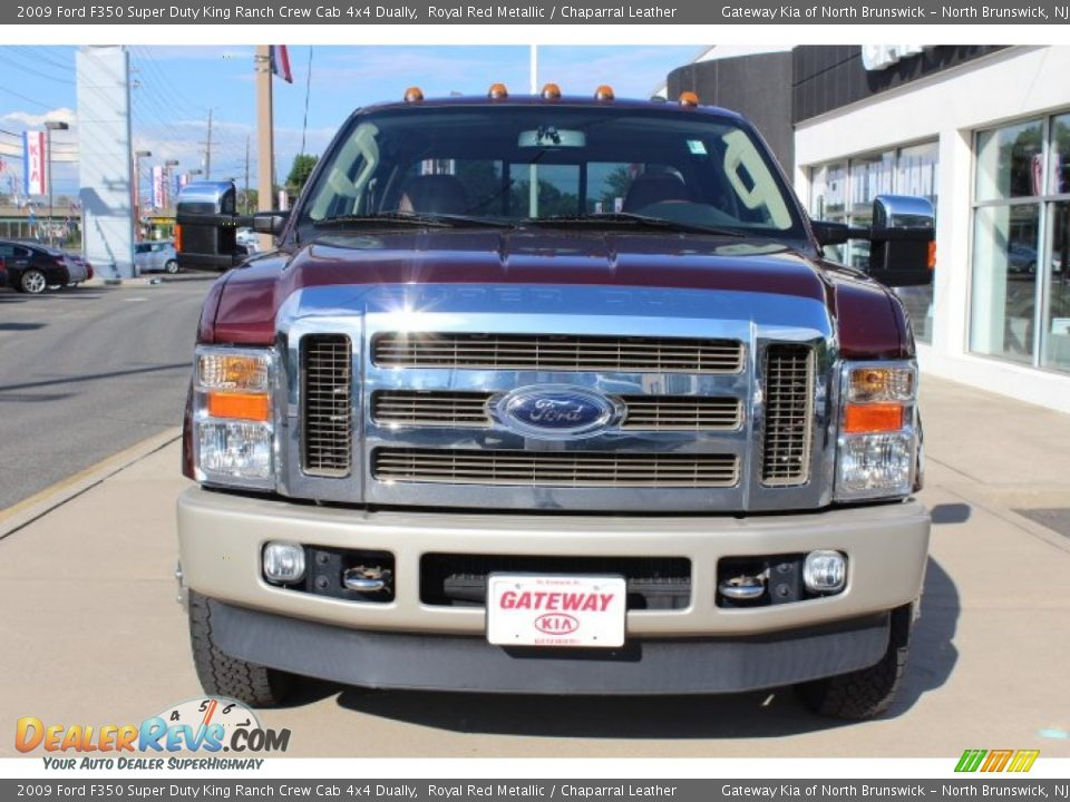 2018 F350 King Ranch >> 2009 Ford F350 Super Duty King Ranch Crew Cab 4x4 Dually Royal Red Metallic / Chaparral Leather ...