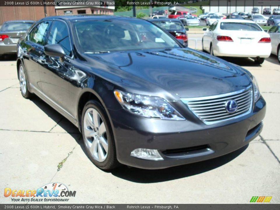 2008 lexus ls 600h l hybrid smokey granite gray mica. Black Bedroom Furniture Sets. Home Design Ideas