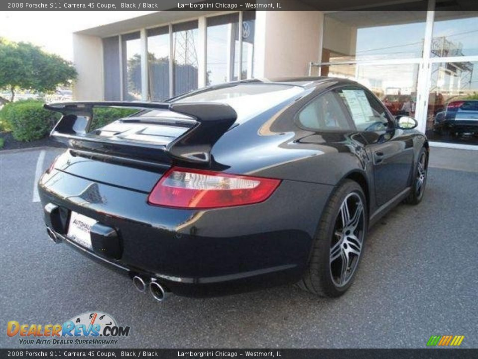 2008 porsche 911 carrera 4s coupe black black photo 4. Black Bedroom Furniture Sets. Home Design Ideas