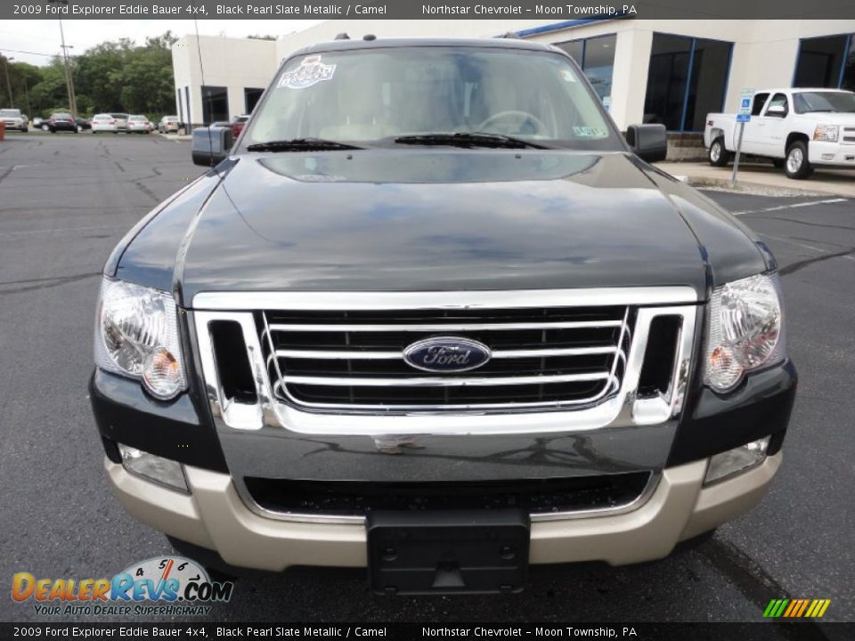 2009 ford explorer eddie bauer 4x4 black pearl slate metallic camel photo 2. Black Bedroom Furniture Sets. Home Design Ideas