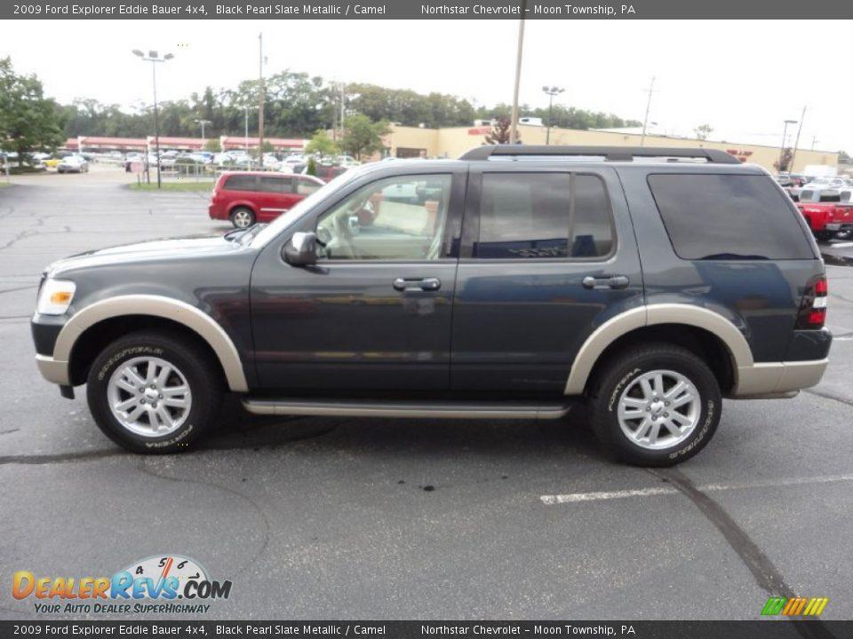 2009 Ford Explorer Eddie Bauer 4x4 Black Pearl Slate