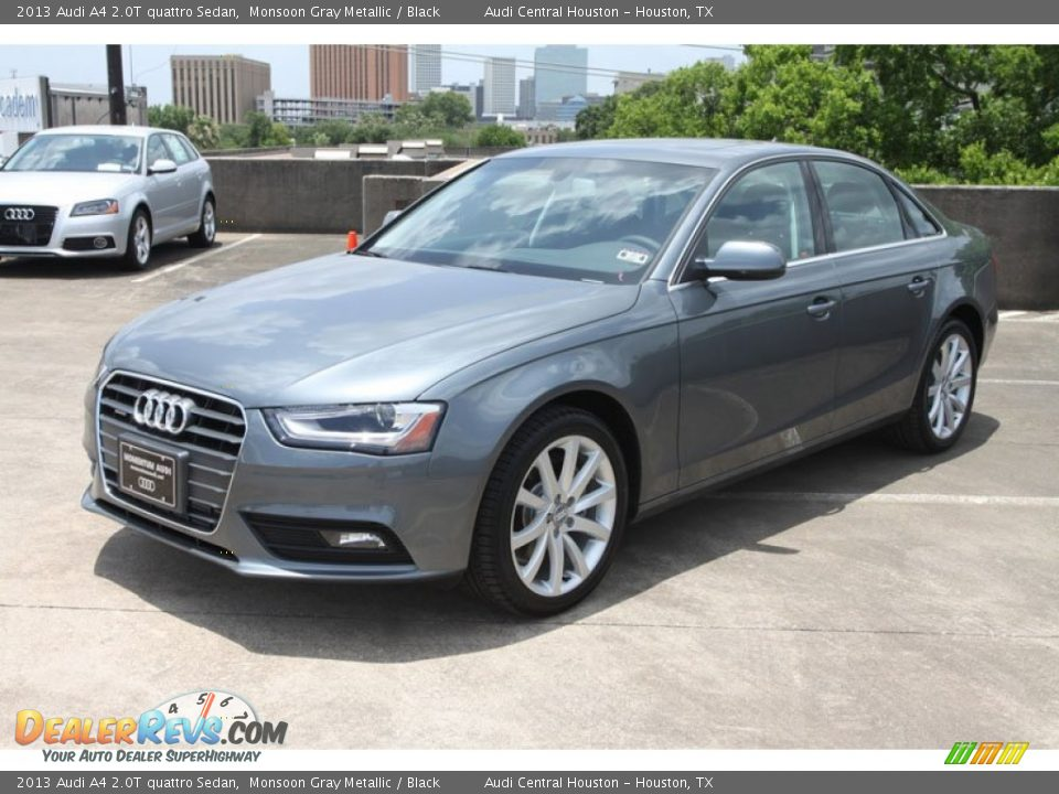 2013 Audi A4 2 0t Quattro Sedan Monsoon Gray Metallic