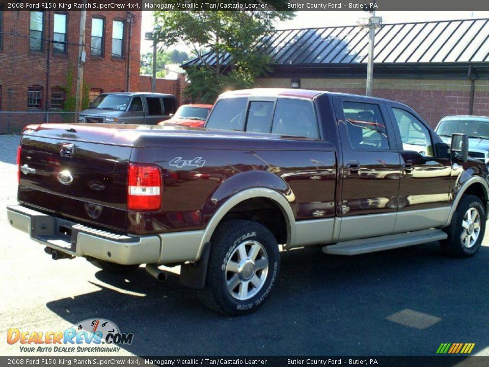 2008 ford f150 king ranch supercrew 4x4 mahogany metallic tan casta o leather photo 4. Black Bedroom Furniture Sets. Home Design Ideas