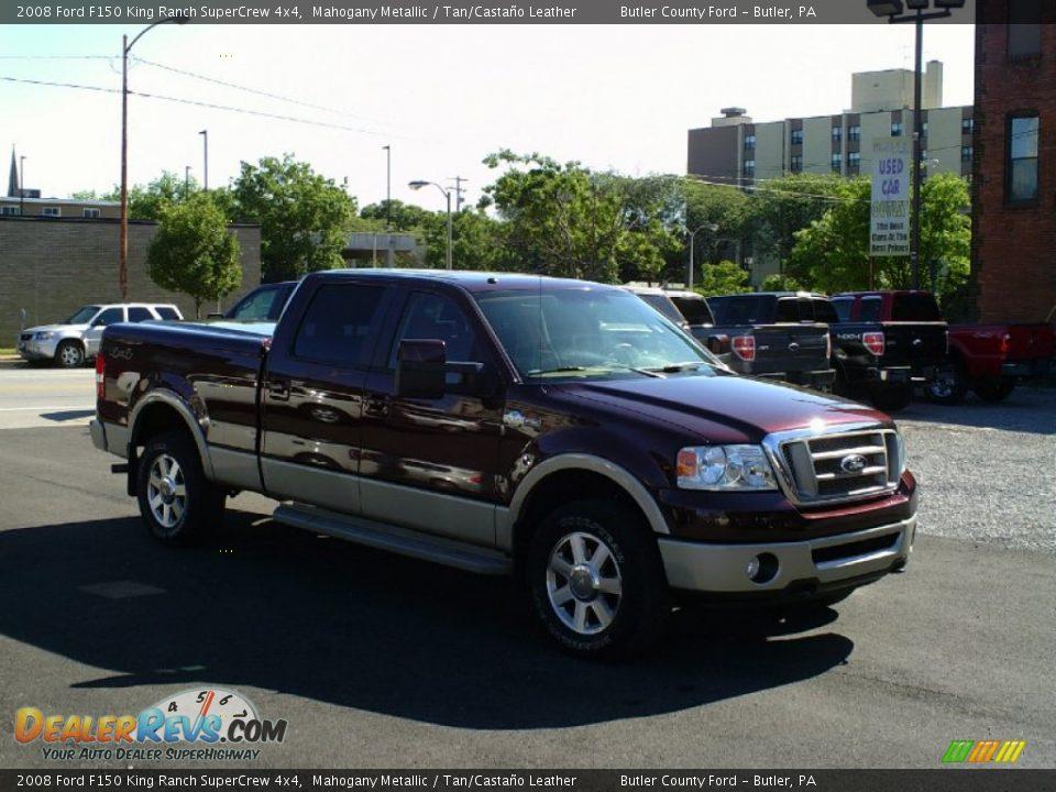 2008 Ford F150 King Ranch Supercrew 4x4 Mahogany Metallic