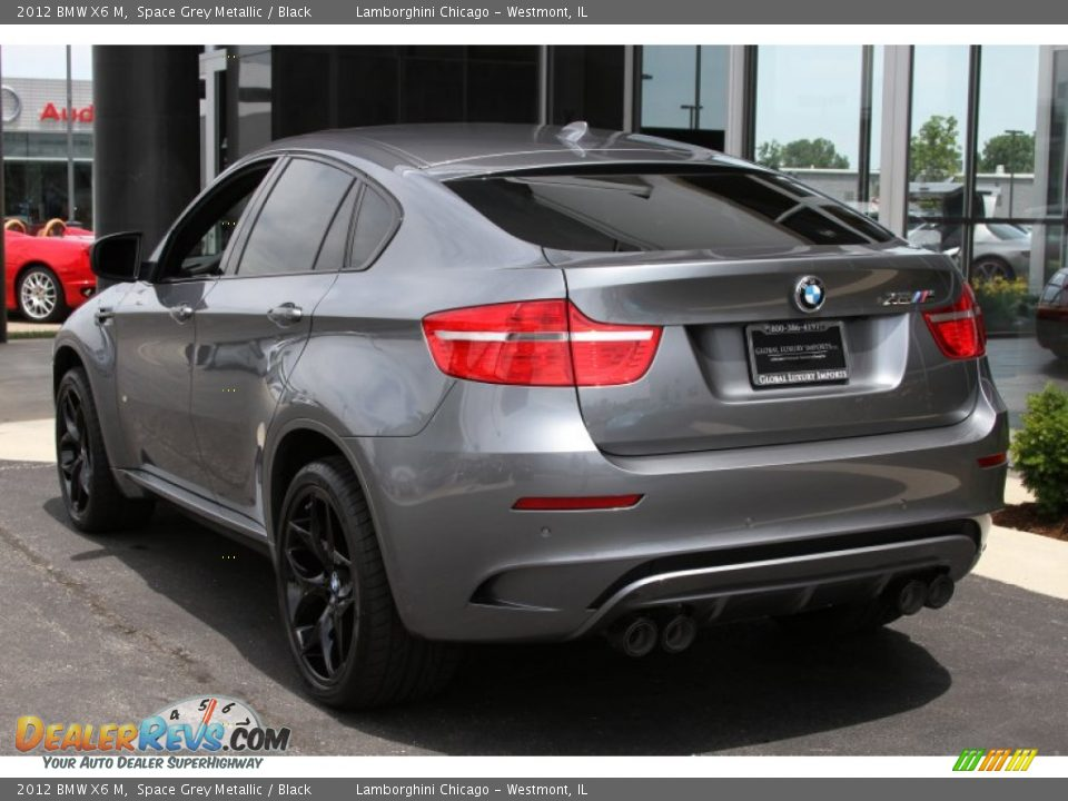 2012 Bmw X6 M Space Grey Metallic Black Photo 2 Dealerrevs Com