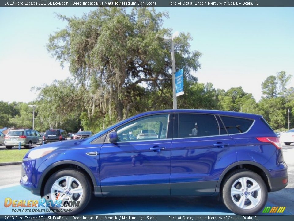 Deep Impact Blue Metallic 2013 Ford Escape SE 1.6L EcoBoost Photo #2