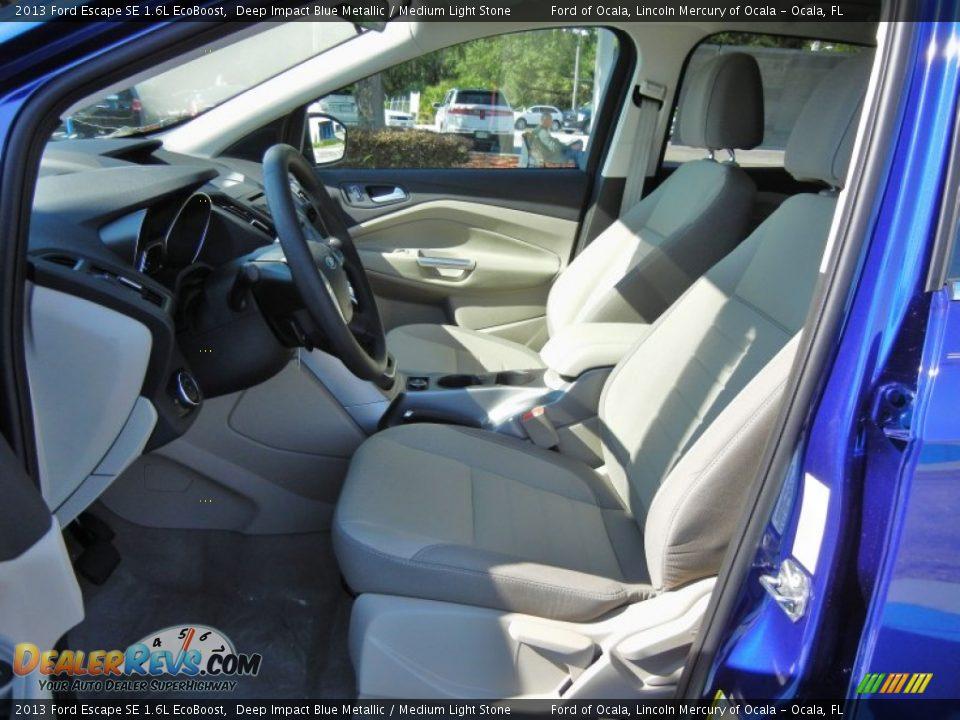 Front seat of 2013 ford escape se 1 6l ecoboost photo 5 dealerrevs com