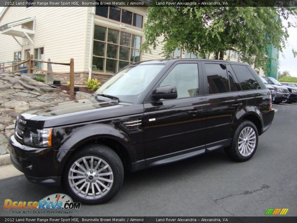 2012 Land Rover Range Rover Sport Hse Bournville Brown