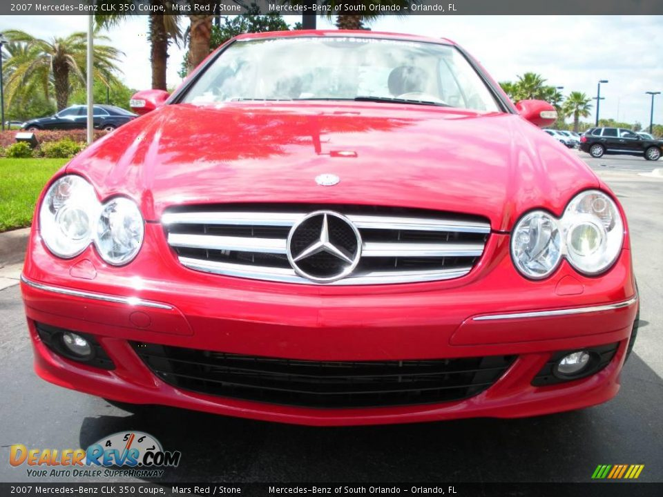 2007 mercedes benz clk 350 coupe mars red stone photo 3 for 2007 mercedes benz clk