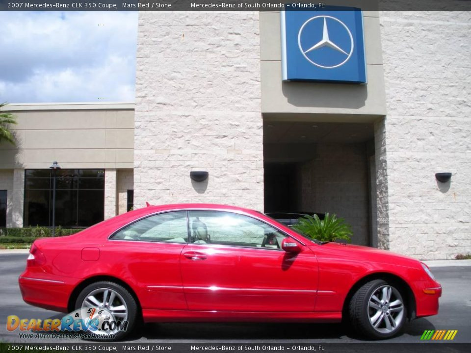 2007 mercedes benz clk 350 coupe mars red stone photo 5 for 2007 mercedes benz clk