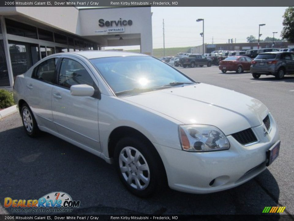 2006 mitsubishi galant es dover white pearl gray photo. Black Bedroom Furniture Sets. Home Design Ideas