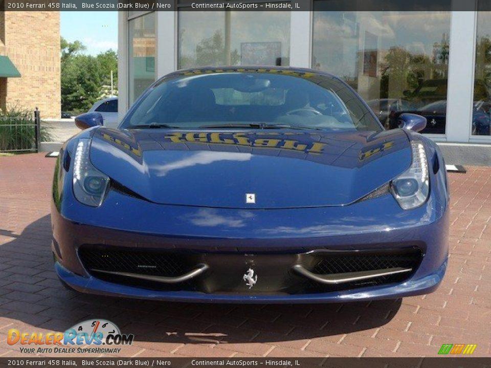 2010 Ferrari 458 Italia Blue Scozia Dark Blue Nero