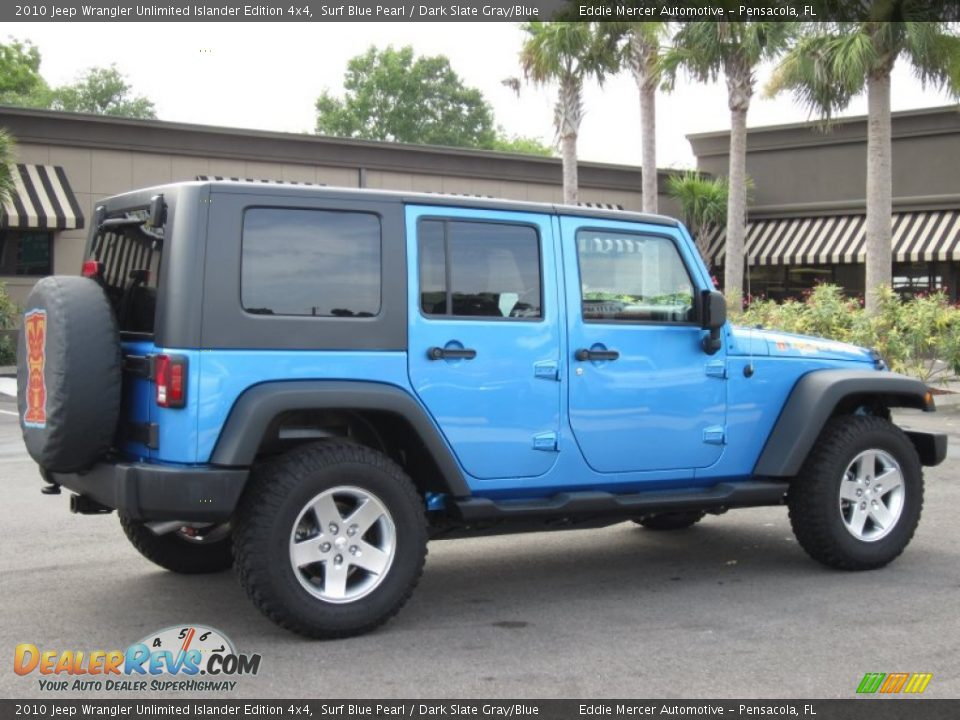 2010 jeep wrangler unlimited islander edition 4x4 surf. Black Bedroom Furniture Sets. Home Design Ideas