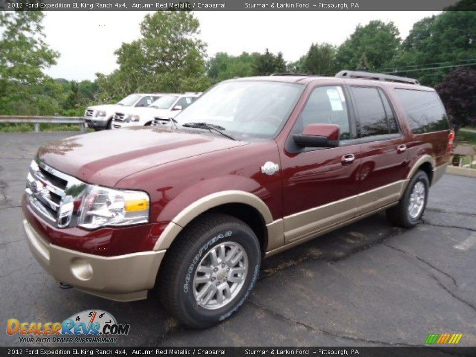 2012 ford expedition el king ranch 4x4 autumn red metallic. Black Bedroom Furniture Sets. Home Design Ideas