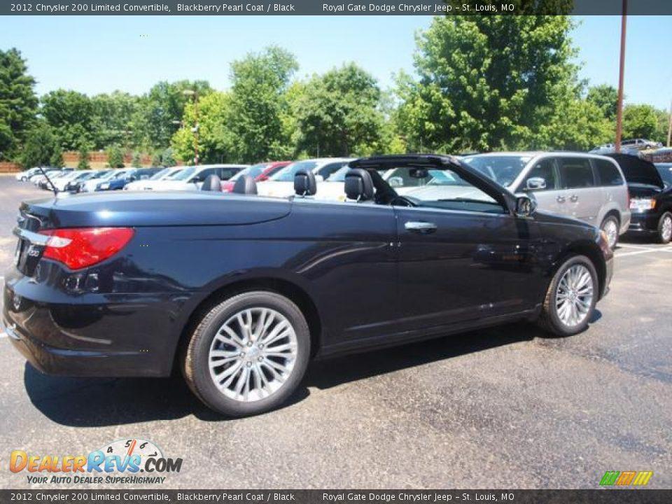 Blackberry Pearl Coat 2012 Chrysler 200 Limited Sedan ...  |2012 Chrysler 200 Limited Blackberry Pearl