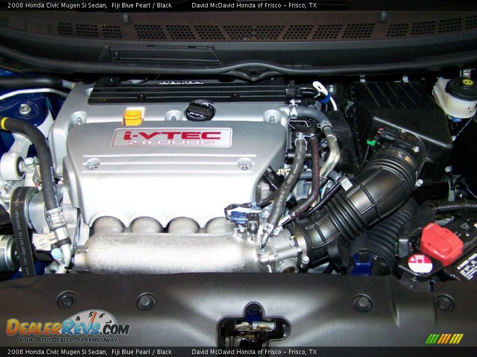2008 honda civic mugen si sedan 2 0 liter dohc 16 valve i vtec 4 cylinder engine photo 7. Black Bedroom Furniture Sets. Home Design Ideas