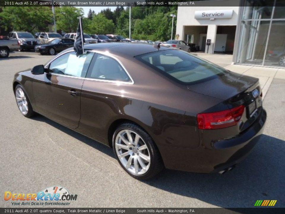 2011 Audi A5 2 0t Quattro Coupe Teak Brown Metallic