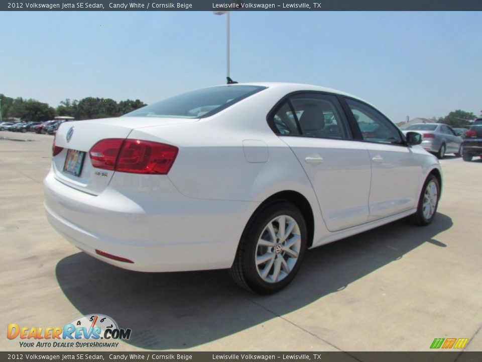 2012 volkswagen jetta se sedan candy white cornsilk beige photo 2. Black Bedroom Furniture Sets. Home Design Ideas