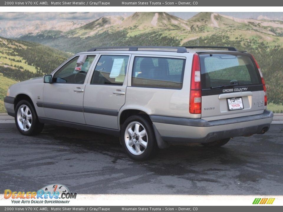 2000 Volvo V70 Xc Awd Mystic Silver Metallic Gray Taupe