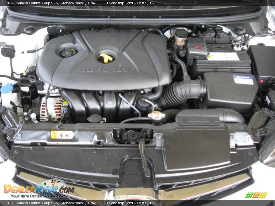 2013 hyundai elantra coupe gs 1 8 liter dohc 16 valve d cvvt 4 cylinder engine photo 10. Black Bedroom Furniture Sets. Home Design Ideas