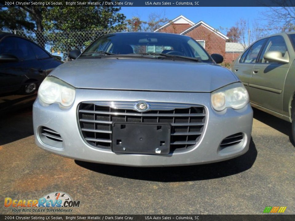 2004 chrysler sebring lx sedan bright silver metallic. Black Bedroom Furniture Sets. Home Design Ideas