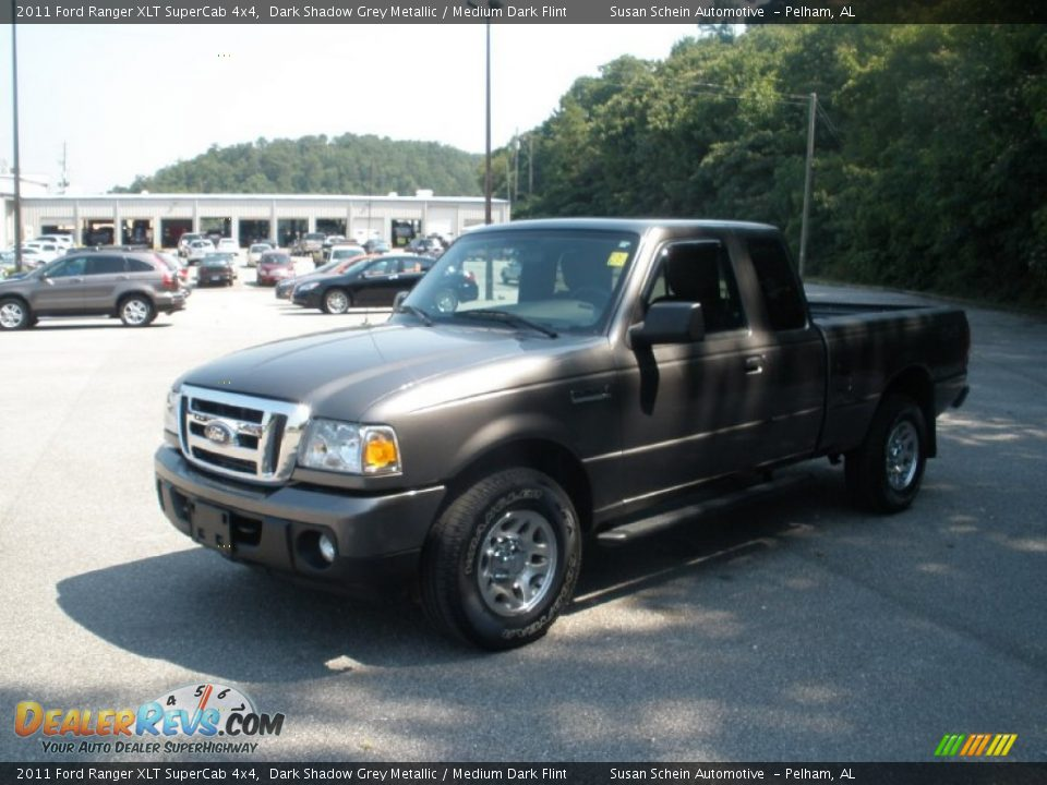 2011 Ford Ranger Xlt Supercab 4x4 Dark Shadow Grey