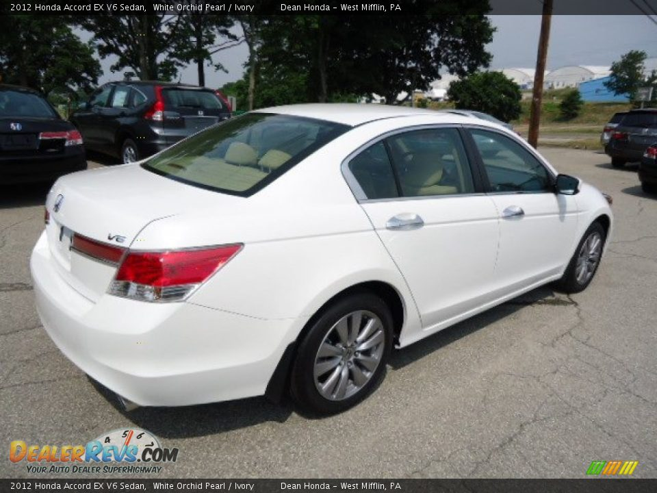 2012 honda accord ex v6 sedan white orchid pearl ivory photo 4. Black Bedroom Furniture Sets. Home Design Ideas