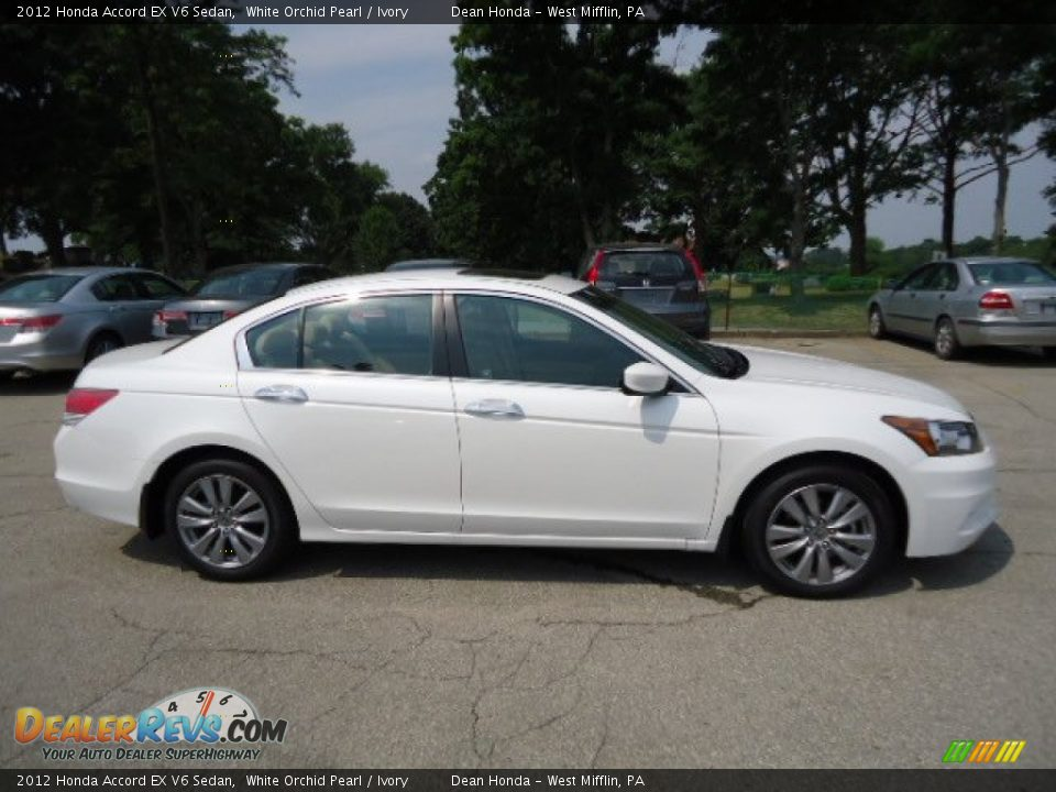 2012 honda accord ex v6 sedan white orchid pearl ivory photo 5. Black Bedroom Furniture Sets. Home Design Ideas