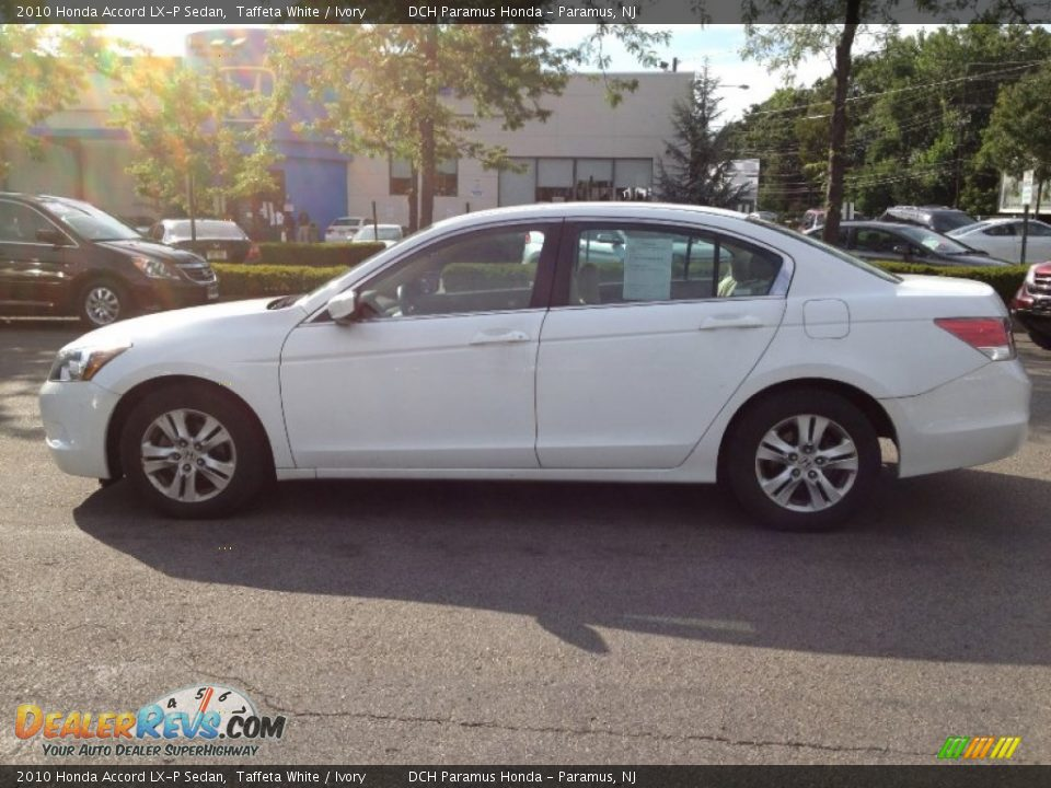 2010 honda accord lx p sedan taffeta white ivory photo. Black Bedroom Furniture Sets. Home Design Ideas