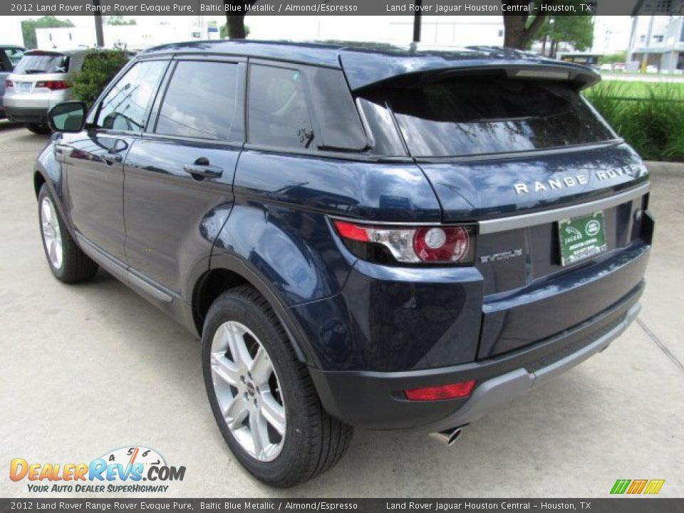 Range Rover Evoque Baltic Blue 2012 Land Rover Range ...