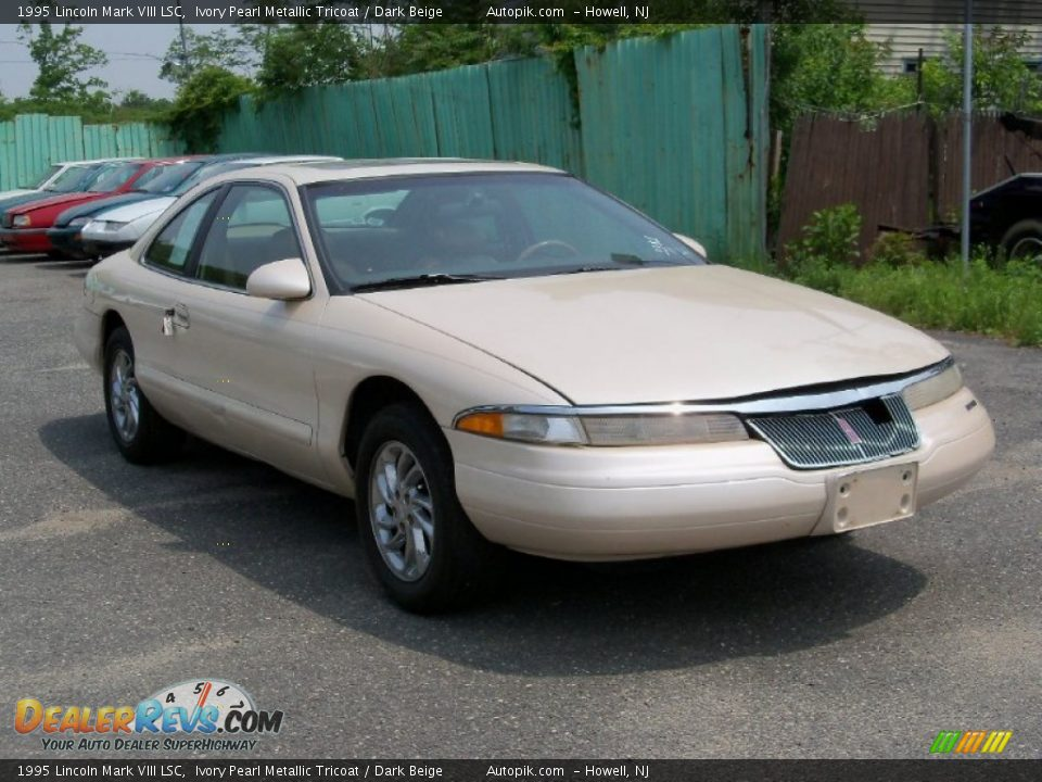 1995 lincoln mark viii lsc ivory pearl metallic tricoat. Black Bedroom Furniture Sets. Home Design Ideas