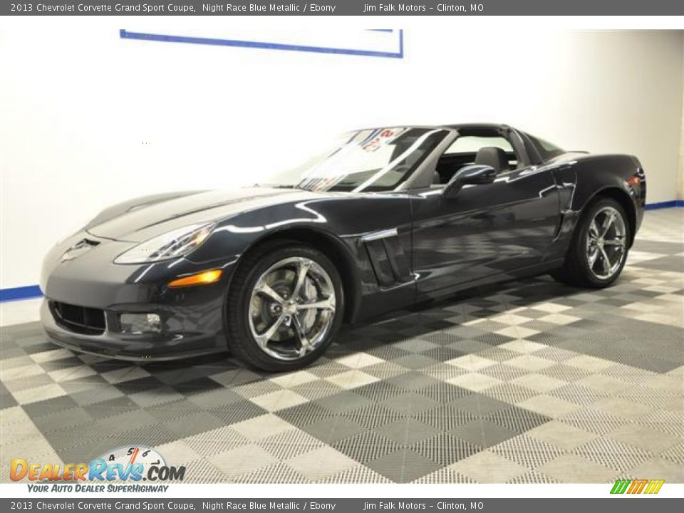 2013 chevrolet corvette grand sport coupe night race blue. Black Bedroom Furniture Sets. Home Design Ideas