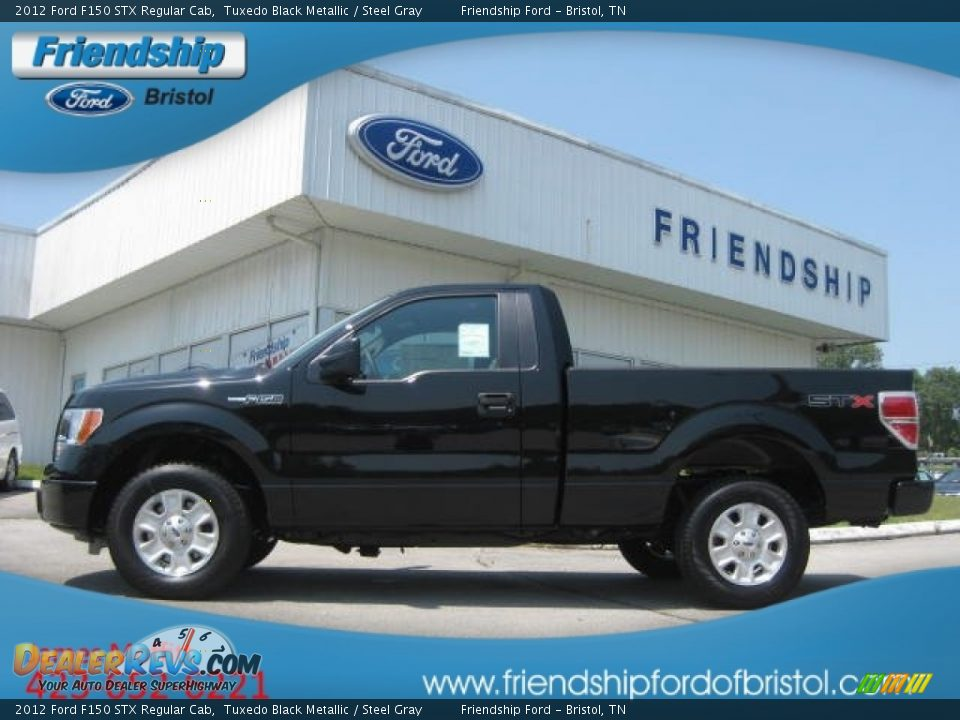 2012 ford f150 stx regular cab tuxedo black metallic steel gray photo 1. Black Bedroom Furniture Sets. Home Design Ideas