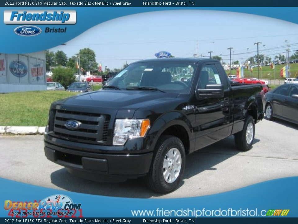 2012 ford f150 stx regular cab tuxedo black metallic steel gray photo 2. Black Bedroom Furniture Sets. Home Design Ideas