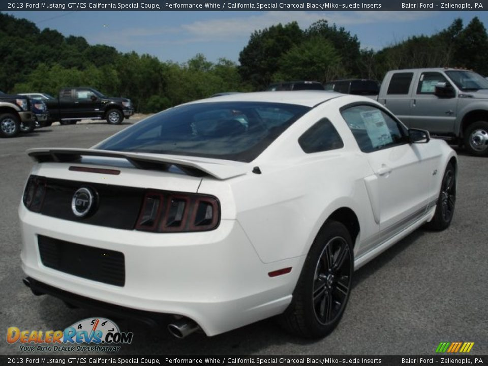 performance white 2013 ford mustang gt cs california special coupe. Black Bedroom Furniture Sets. Home Design Ideas