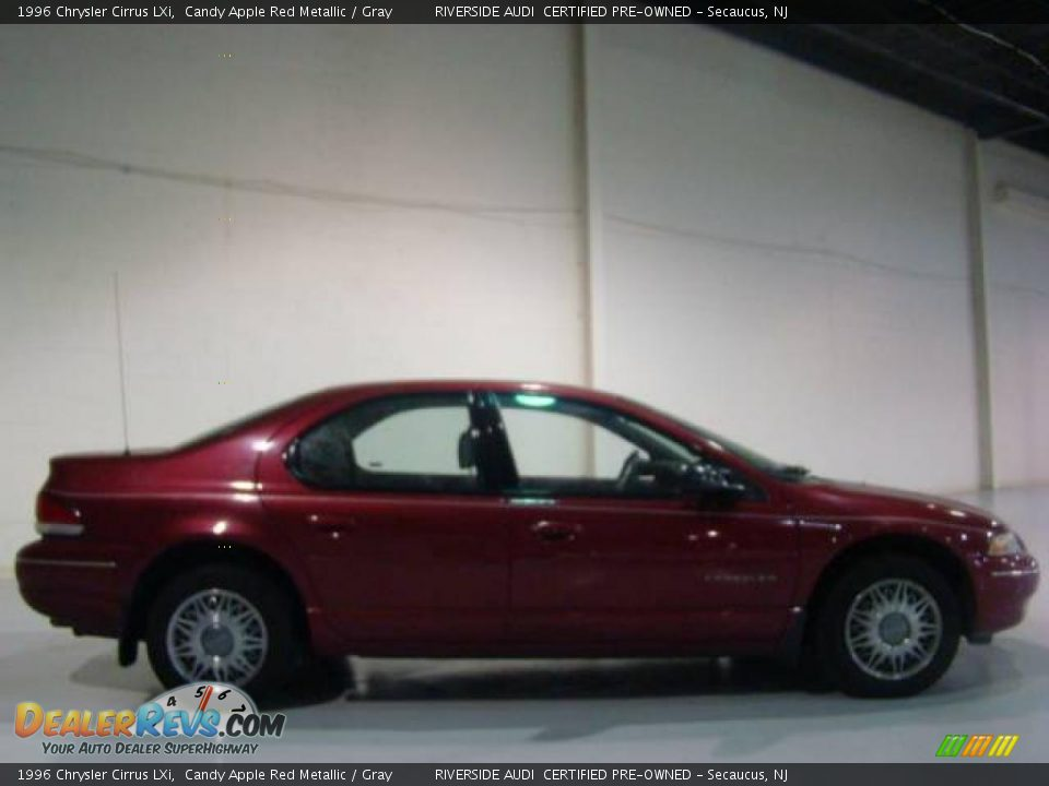 1996 Chrysler Cirrus LXi Candy Apple Red Metallic / Gray Photo #3 ...
