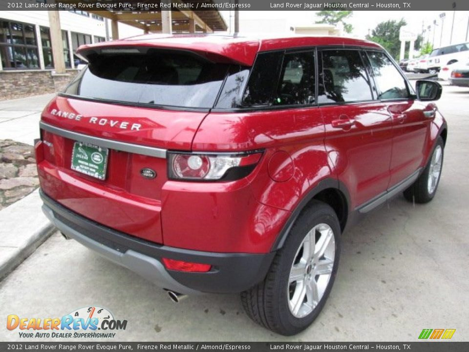 2012 land rover range rover evoque pure firenze red. Black Bedroom Furniture Sets. Home Design Ideas