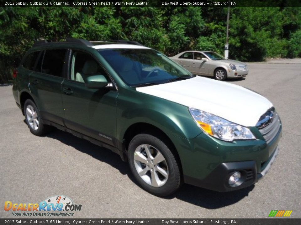 2013 subaru outback 3 6r limited cypress green pearl warm ivory leather photo 5. Black Bedroom Furniture Sets. Home Design Ideas