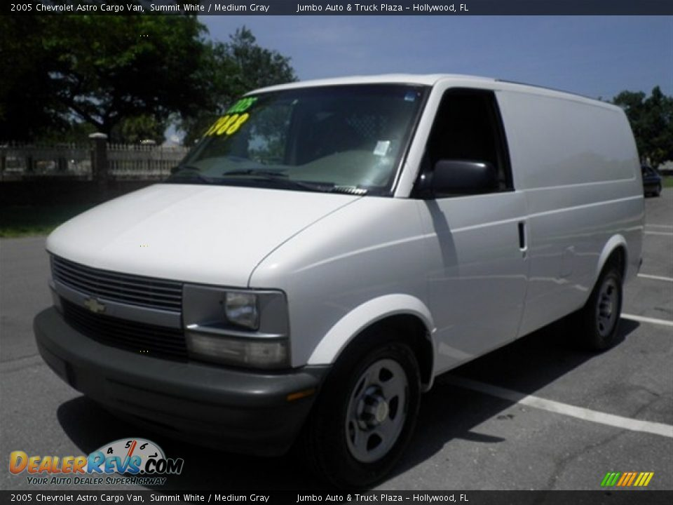 2005 chevrolet astro cargo van summit white medium gray. Black Bedroom Furniture Sets. Home Design Ideas