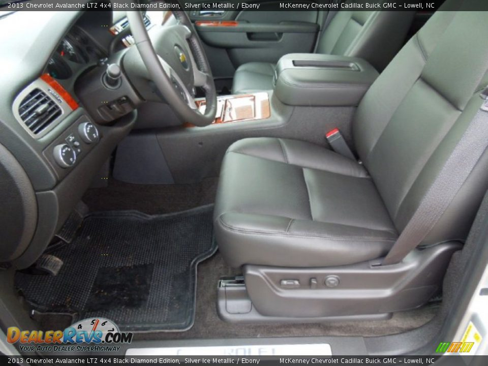 chevrolet avalanche interior ebony - photo #22
