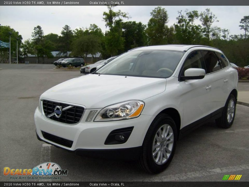 2010 volvo xc60 t6 awd ice white sandstone photo 7. Black Bedroom Furniture Sets. Home Design Ideas