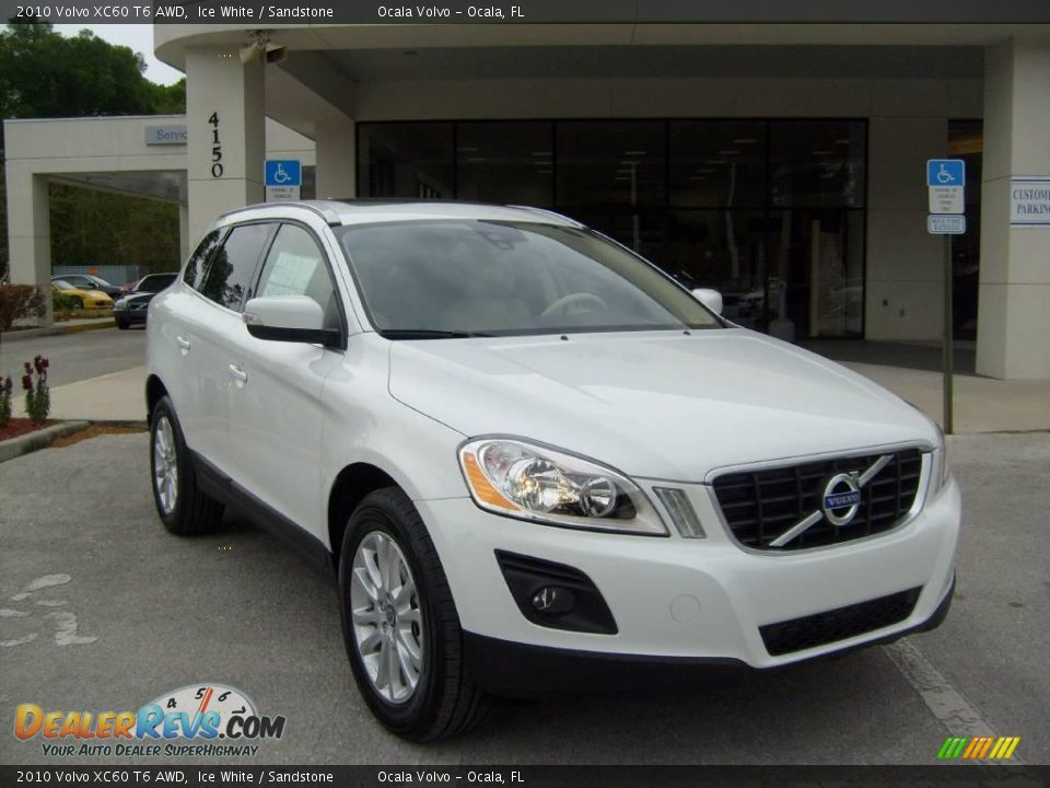 2010 volvo xc60 t6 awd ice white sandstone photo 9. Black Bedroom Furniture Sets. Home Design Ideas