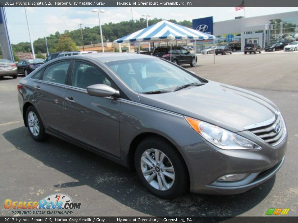 2013 hyundai sonata gls harbor gray metallic gray photo. Black Bedroom Furniture Sets. Home Design Ideas