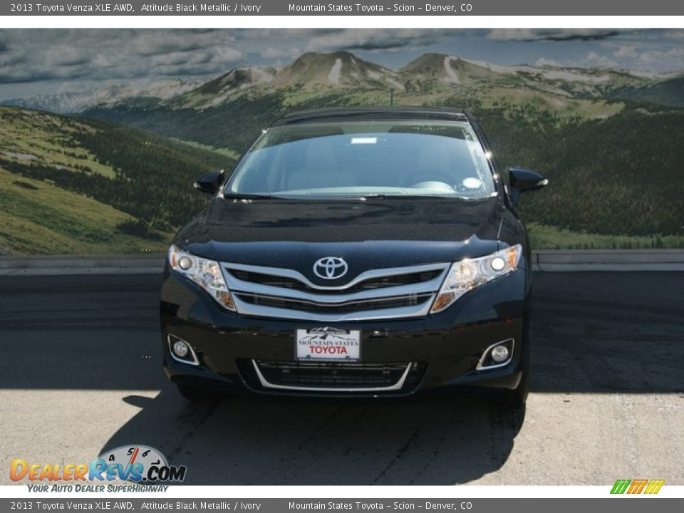 2013 toyota venza xle awd attitude black metallic ivory. Black Bedroom Furniture Sets. Home Design Ideas