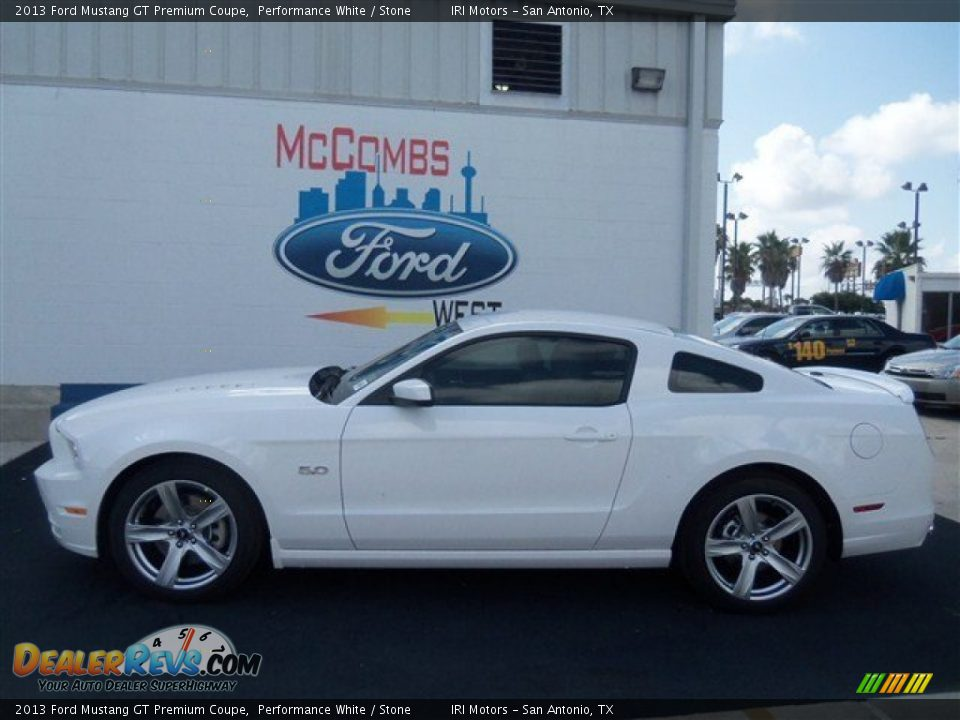 2013 ford mustang gt premium coupe performance white stone photo 2. Black Bedroom Furniture Sets. Home Design Ideas