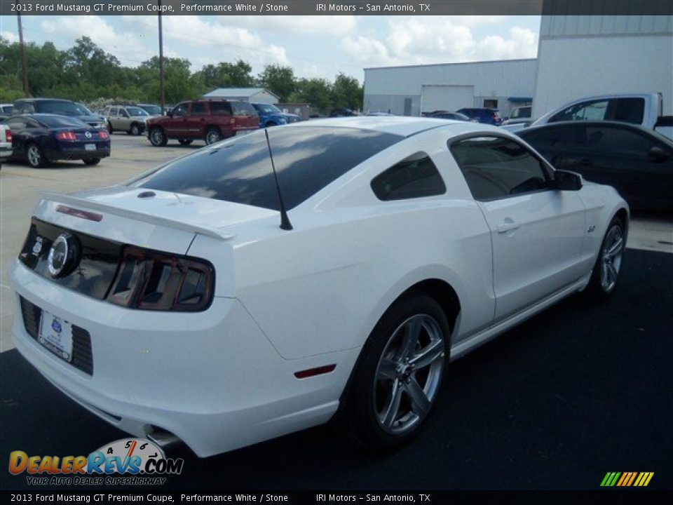 2013 ford mustang gt premium coupe performance white stone photo 5. Black Bedroom Furniture Sets. Home Design Ideas